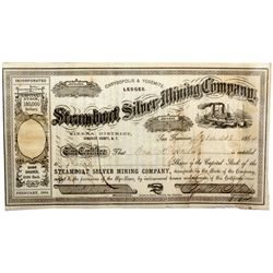 Steamboat Silver Mining Company Stock, NV - Humboldt County,