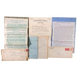 Mining Documents, NV - Lander County,