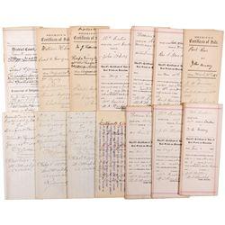 Sale of Mining Properties Documents, NV - Lander County,