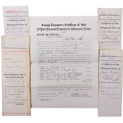 Saloon Document Collection, NV - Lander County,