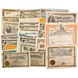 Manhattan Stock Certificates and Ephemera, NV - Manhattan,Nye County