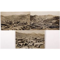 Set of 3 Real Photo Postcards of Rawhide, Nevada, NV - Rawhide,Mineral