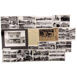 N.E Johnson Photo Collection, NV - Rhyolite,Nye County