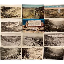 Leach Open Pit Mine Postcards, NV - Ruth,White Pine County