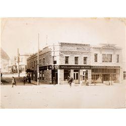 Nye and Ormsby County Bank Photo, NV - Tonopah,Nye County