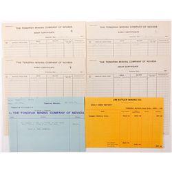 Tonopah Area Assayers Files, NV - Tonopah, Nye County