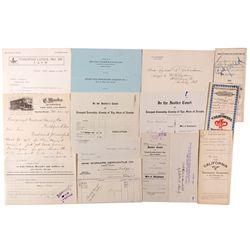 Tonopah Ephemera Collection, NV - Tonopah,Nye County