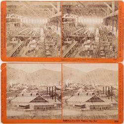 California Pan Mill Stereoviews, NV - Virginia City,Storey County