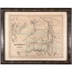 Territorial Map, UT - ,