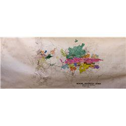 Mining Districts of Utah Map, UT - Park City,