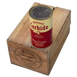 Lamp Carbide Box, VA - Ivanhoe,Wythe County