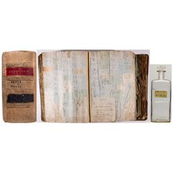 Vancouver Druggist Ledger and Bottle, WA - Vancouver,Clark County