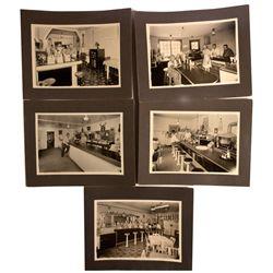 Soda Fountain Postcards, WY - Douglas,Converse County