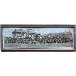 Brule Mining Co. Framed Photograph,  - Canada,