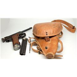 WWII Japanese Pistol & Accessories,  - Nagoya, Japan,