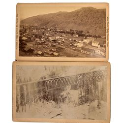 Colorado Trestle and Town Photographs, CO - Idaho Springs,Clear Creek County