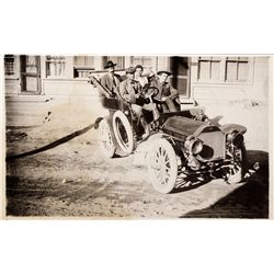 One of the First Cars to Tonopah Photo, NV - Tonopah,Nye