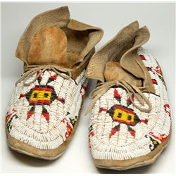 Beaded Moccasins,  - ,