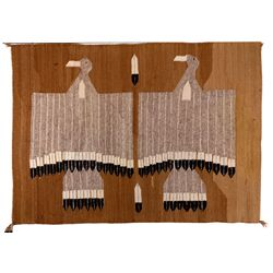 Navajo Small Throw, Two Eagles,  - ,