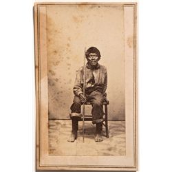 Photograph of Native American Man, CA - ,