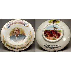 Fred Krug Brewing Co. Plate,  - ,