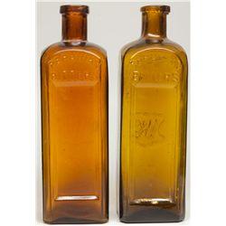 Peruvian Bitters Bottle Duo,  - ,