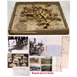 Bingo Game & Ephemera, NV - Virginia City,Storey