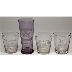 Whiskey Shot Glasses, UT - ,