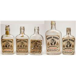 Bobby Burns Whiskey Bottle Collection, UT - Salt Lake City,