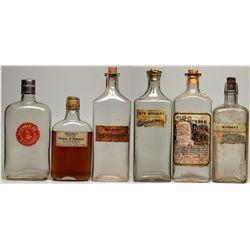 Drug Store Whiskey Bottle Group, UT - Salt Lake City,