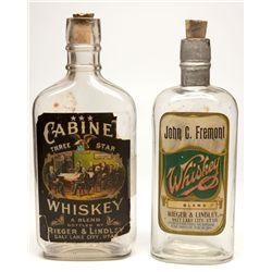 Fremont & Cabinet Whiskey Bottles, UT - Salt Lake City,