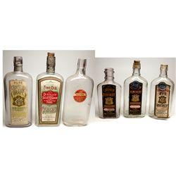 Sadler Merchantile Paper Labeled Bottles, UT - Salt Lake City,