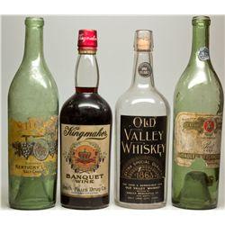 Salt Lake City Whiskey & Wine Bottle Quartet, UT - Salt Lake City,