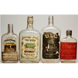 Salt Lake City Whiskey Bottles Quartet, UT - Salt Lake City,
