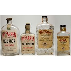 Salt Lake City Whiskey Flasks Quartet, UT - Salt Lake City,