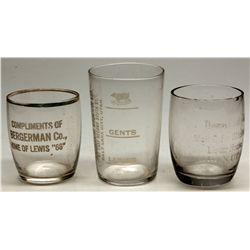Utah Shot Glass Trio, UT - Salt Lake City,