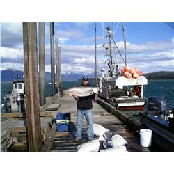 6-day fishing trip for one angler in Gustavus, Alaska