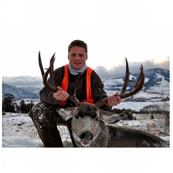 5-day elk and deer hunt for one hunter in Montana