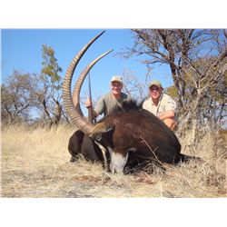 5-day plains game hunt for one hunter in Zimbabwe