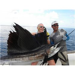 4-day all-inclusive fishing trip for four anglers in Panama