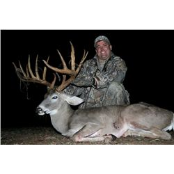 3-day trophy whitetail deer hunt for one hunter and one non-hunter in Texas - includes trophy fees u