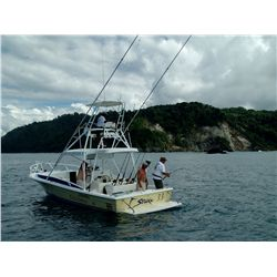 4-day tower boat fishing package for one angler at Crocodile Bay Resort in Costa Rica