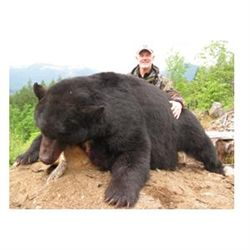 5-day Vancouver Island black bear hunt for two hunters in Canada - includes trophy fees