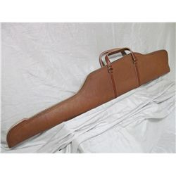 Deluxe Cape buffalo hide rifle case