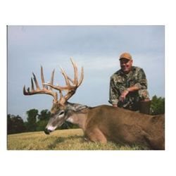 3-day whitetail deer hunt for one hunter in Corsicana, Texas - includes trophy fee up to 170 gross B