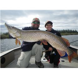 4-day fishing trip for two anglers at Wollaston Lake Lodge - a remote, luxury fly-in fishing lodge i