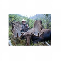 10-day Canadian moose hunt for one hunter in British Columbia - includes trophy fee