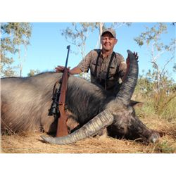 6-day/7-night Asiatic buffalo hunt for one hunter and one non-hunter in Arnhem Land, Australia - inc