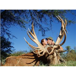 7-day big game multi-species hunt for two hunters in Argentina - includes trophy fees