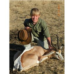 7-day plains game hunt for one hunter in Namibia - includes trophy fees